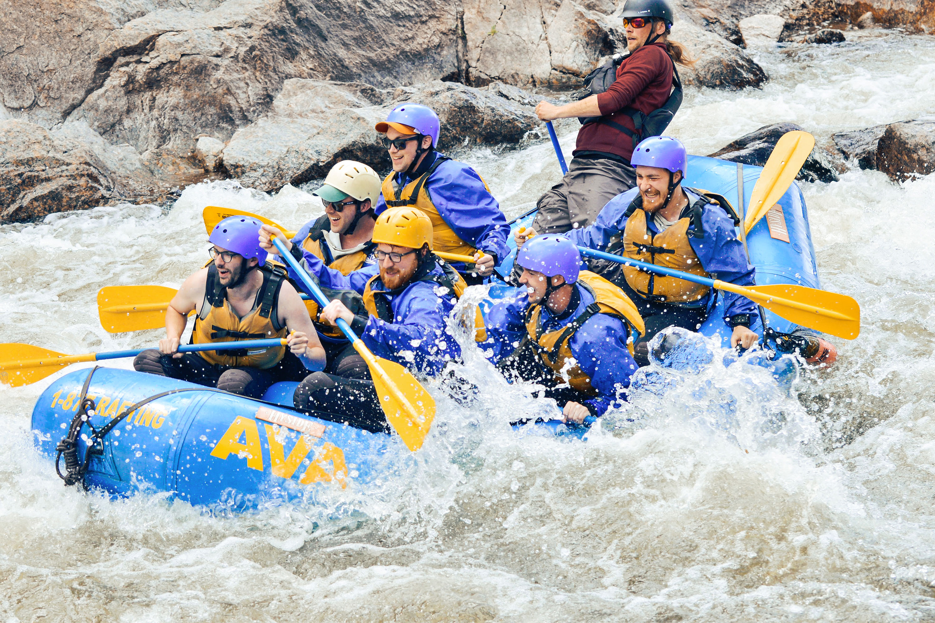 AVA Colorado Rafting