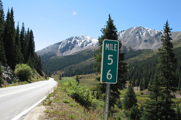 Scenic Drives Independence Pass