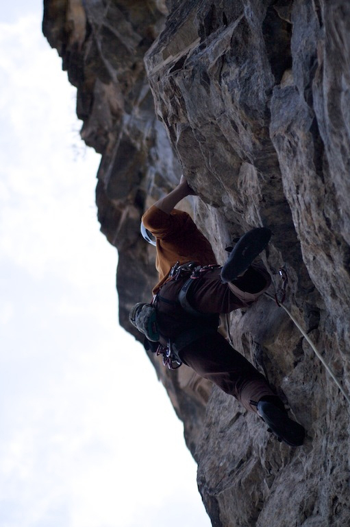 Rifle Rock Climbing