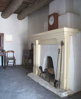 Bent's Old Fort - Fireplace