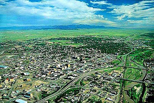 Pueblo from the Air